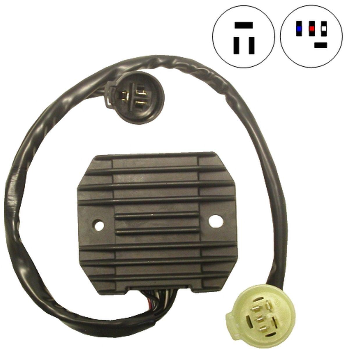 Kawasaki 636 Rectifier Regulator Wiring Connections Diagrams Zx6r Diagram 2007 2003 Zx9r W800