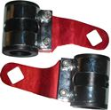 Picture of Headlight Brackets Red Deluxe to fit forks 26mm to 37mm (Pair)