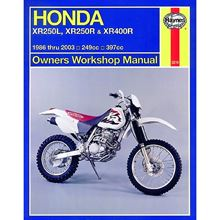 Picture of Haynes Manual 2219 HON XR250L,XR250R & XR400R 86-03+T11316