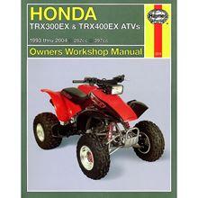 Picture of Haynes Manual 2318 HON ATV TRX300EX,400EX/TRX450EX 93-06-S/Order