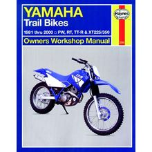Picture of Haynes Manual 2350 Yamaha TRAIL BIKES OWNERS  81-00-S/Order