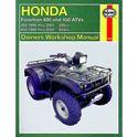 Picture of Haynes Manual 2465 HON ATV FOREMAN 400 & 450 95-02-S/Order