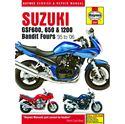 Picture of Haynes Manual 3367 Suzuki GSF600,650 & 1200 Bandit 95-06+T11449