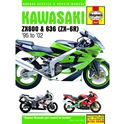 Picture of Haynes Manual 3541 KAW ZX600 (NINJA ZX-6R) 95-98-SPECIAL
