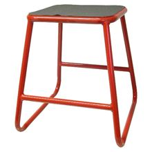 Picture of Motocross Bike Stand Red with a height of 42cm