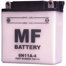 Picture of Battery 6N11A-4 (L:120mm x H:129mm x W:60mm)