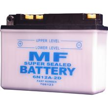 Picture of Battery 6N12A-2D (L:156mm x H:116mm x W:57mm)