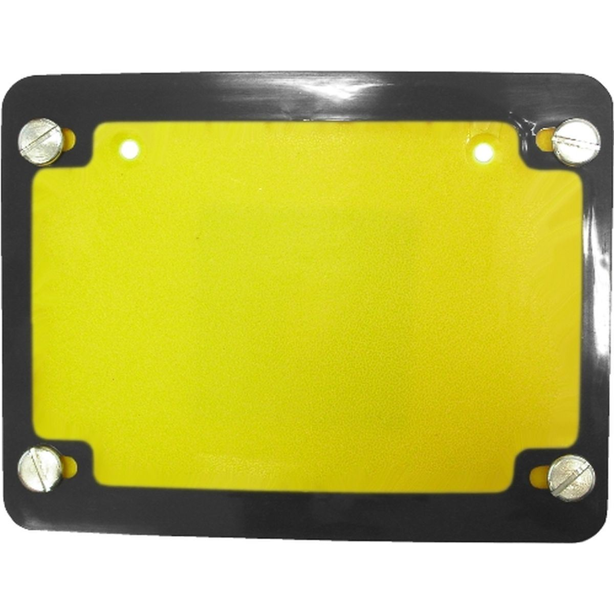 Aw Motorcycle Parts Number Plate Surround 6 Digit Chrome