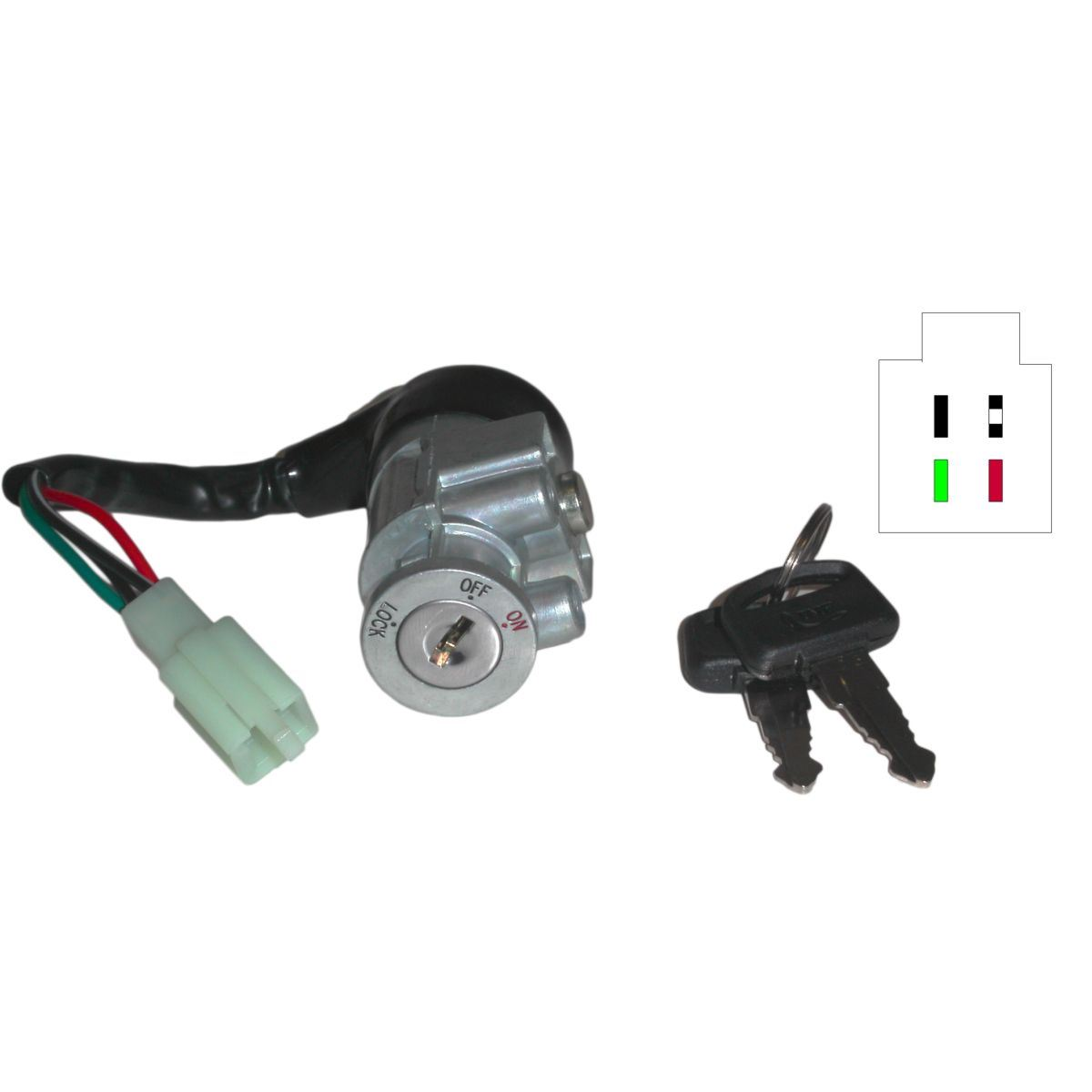 Picture of Ignition Switch Honda Melody 4 Wires