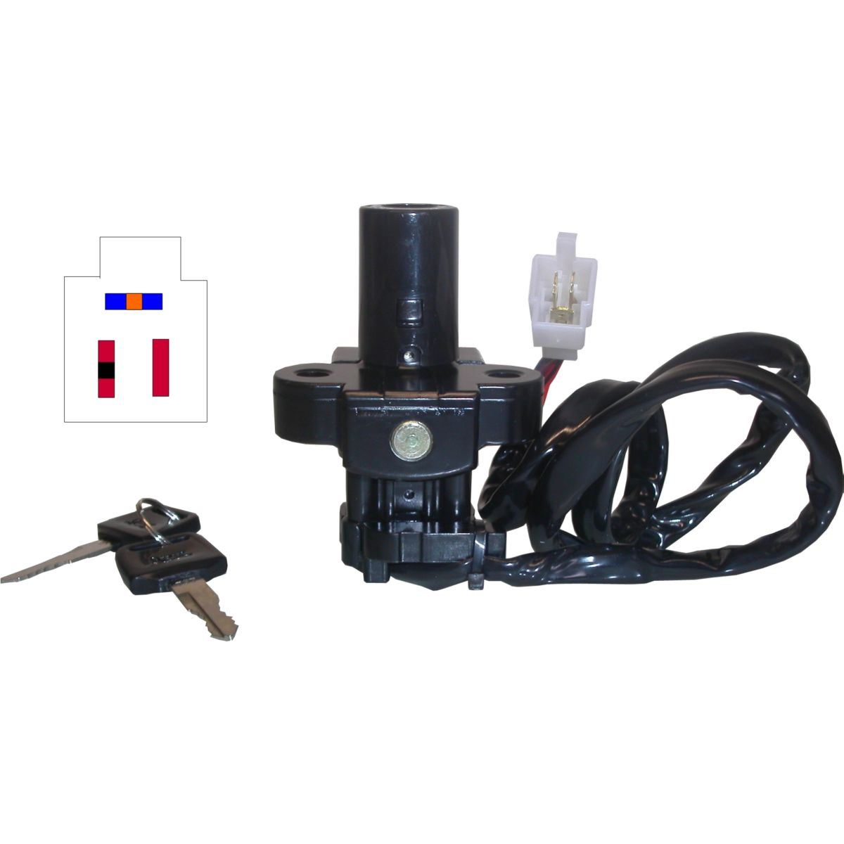 Aw Motorcycle Parts  Ignition Switch Honda Cbr600f  Vfr800