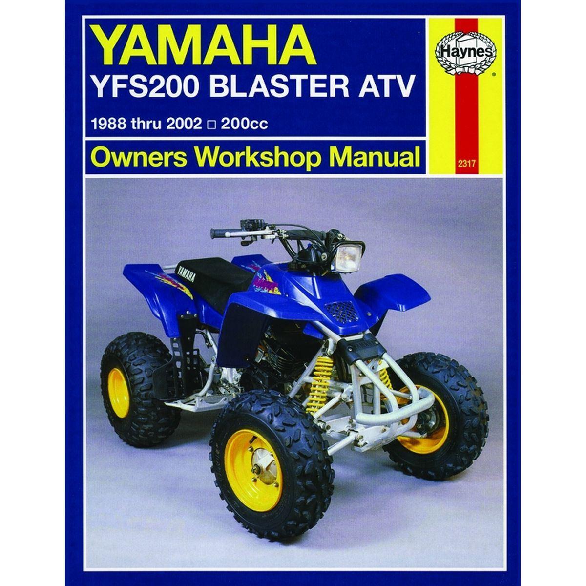 Free Yamaha blaster Manual