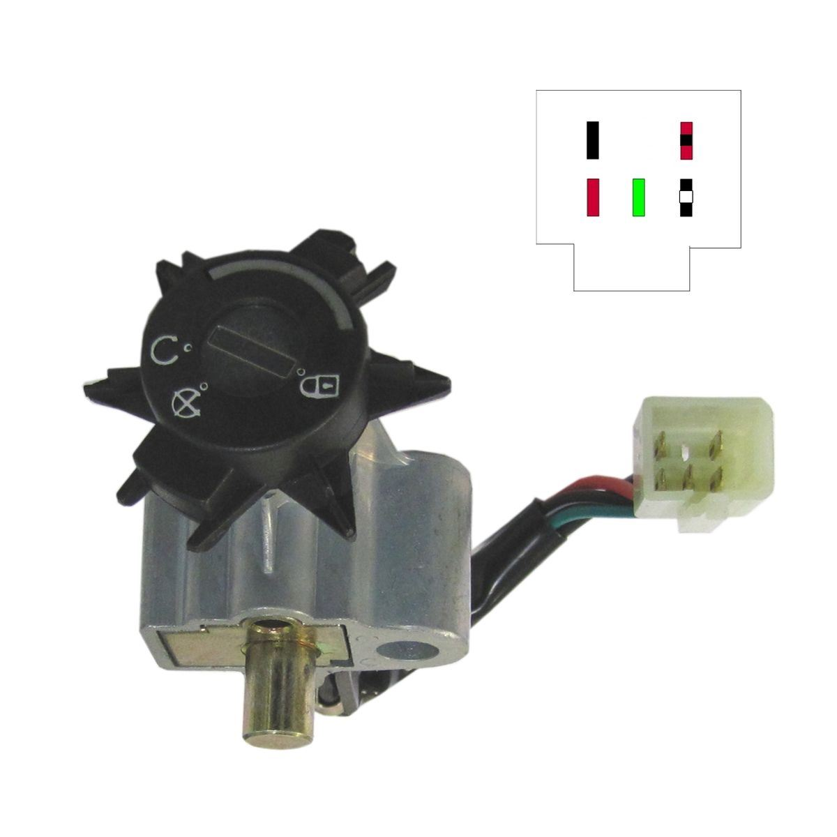 aw motorcycle parts ignition switch peugeot ludix 50 5 wire. Black Bedroom Furniture Sets. Home Design Ideas