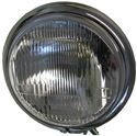 Picture of Headlight Complete Bottom Mount Chrome Bates 5.75""