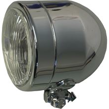 "Picture of Headlight Complete Chrome Bottom Mount 4.5""(E Marked)"
