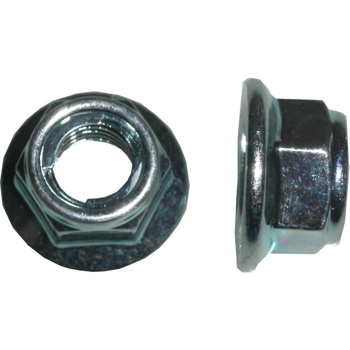 Aw Motorcycle Parts Nuts Flange Metal Locking 10mm Thread